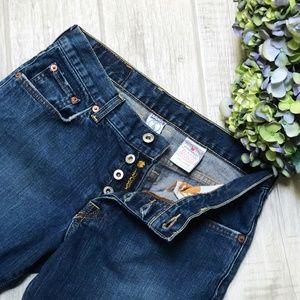 Lucky Brand Easy Rider Button Fly Boyfriend Jeans